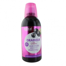 MILICAL DRAINALIGNE ULTRA GOUT CASSIS 500ML