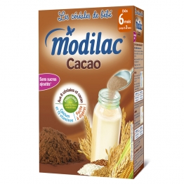 MODILAC CEREALES CACAO 6 MOIS-3 ANS 300G