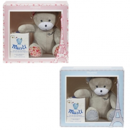 MUSTELA COFFRET MUSTI 50ML + OURSON