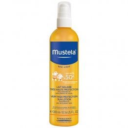 MUSTELA SOLAIRE SPRAY TRES HAUTE PROTECTION SPF50 + 300 ML