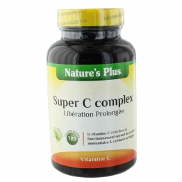 NATURE 'S PLUS SUPER C COMPLEX 120 COMPRIMES