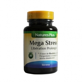 NATURE'S PLUS MEGA STRESS 30 COMPRIMES
