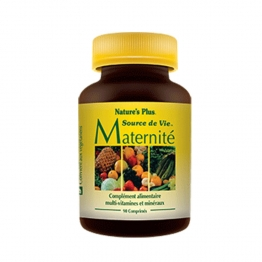 NATURE'S PLUS SOURCE DE VIE MATERNITE 90 COMPRIMES