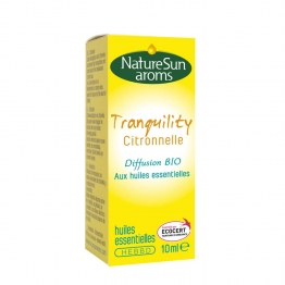 NATURESUN AROMS TRANQUILITY CITRONNELLE DIFFUSION BIO 10ML
