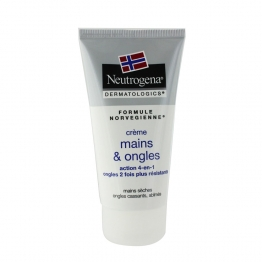 NEUTROGENA CREME MAINS ET ONGLES ACTION 4 EN 1 MAINS SECHES 75ML