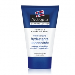 NEUTROGENA CREME MAINS HYDRATANTE CONCENTREE MAINS TRES SECHES ET AGRESSEES 75ML