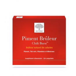 NEW NORDIC PIMENT BRULEUR CHILI BURN 60 COMPRIMES
