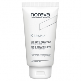 NOREVA KERAPIL SOIN DERMO-REGULATEUR JAMBES-MAILLOT-BARBE 75ML