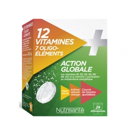 NUTRISANTE 12 VITAMINES + 7 OLIGO-ELEMENTS