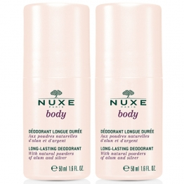 NUXE BODY DEODORANT LONGUE DUREE 2x50ML