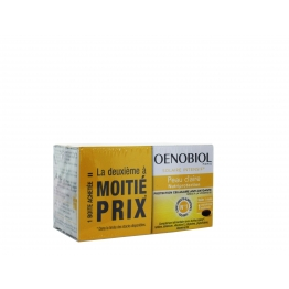 OENOBIOL SOLAIRE INTENSIF NUTRI PROTECTION PEAUX CLAIRES 2X30 CAPSULES