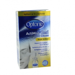 OPTONE SPRAY OCULAIRE ACTIMIST 2EN1 YEUX IRRITES 10ML