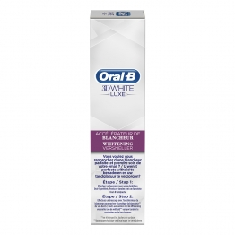 ORAL B 3D WHITE LUXE PERFECTION ACCELERATEUR DE BLANCHEUR 75ML