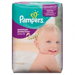 PAMPERS COUCHES ACTIVE FIT T5 11-23KG 20 UNITES