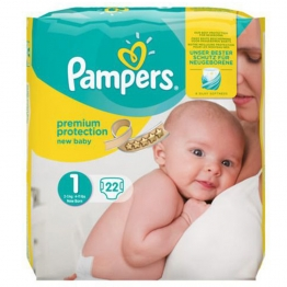 PAMPERS NEW BABY COUCHE BEBE 2-3 KG X 23