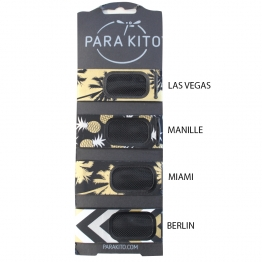 PARA KITO BRACELET REPULSIF ANTI-MOUSTIQUE NATUREL COLLECTION PARTY
