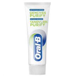 PATE DENTIFRICE NETTOYANT INTENSE 75ML GENCIVES PURIFY ORAL-B