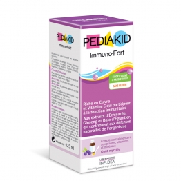 Immuno Fortifying Syrup Blueberry Flavour 125ml Pediakid