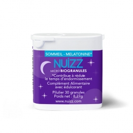 PHYTORESEARCH NUIZZ SOMMEIL MELATONINE MICRO BIOGRANULES X30