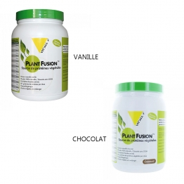 VIT'ALL+ PLANT FUSION SOURCE DE PROTEINES VEGETALES 454G PROGRAMME 15 JOURS