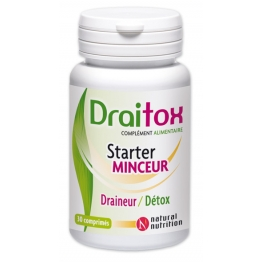NATURAL NUTRITION DRAITOX 30 COMPRIMES