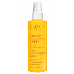 URIAGE BARIESUN SPRAY SPF50+ SANS PARFUM PEAUX SENSIBLES 200ML