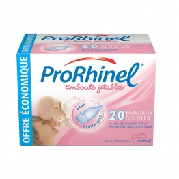 PRORHINEL EMBOUTS NASALES JETABLES BOITE 20