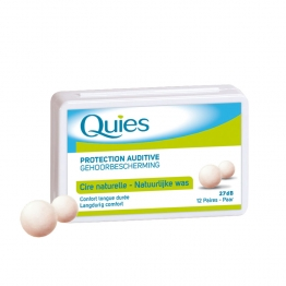 QUIES PROTECTION AUDITIVE CIRE NATURELLE CONFORT LONGUE DUREE X24
