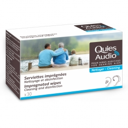 QUIES AUDIO 30 SERVIETTES IMPREGNEES