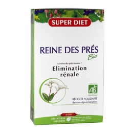 SUPERDIET REINE DES PRES BIO ELIMINATION RENALE 20 AMPOULES 15ML