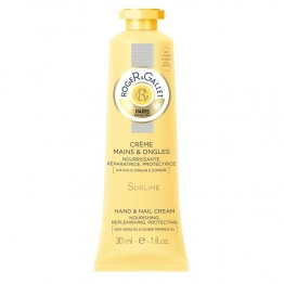 ROGER & GALLET CREME SUBLIME MAINS ET ONGLES BOIS D'ORANGE