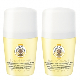 ROGER & GALLET DEODORANT BOIS D'ORANGE 2X50ML