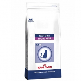 ROYAL CANIN YOUNG MALE NEUTERED CHAT STERILISE CROQUETTES VOLAILLE 3.5KG