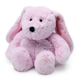 SOFRAMAR BOUILLOTTE COZY PELUCHE LAPIN ROSE