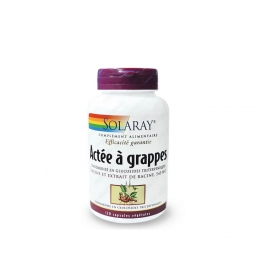 SOLARAY ACTEE A GRAPPE 120 CAPSULES