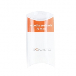 SONALTO PACK 6 PETITS EMBOUTS 9MM