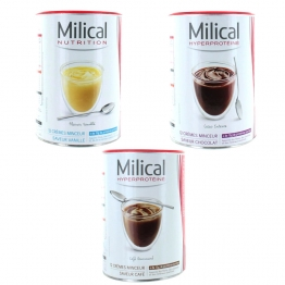 MILICAL HYPERPROTEINE 12 CREMES MINCEURS