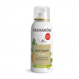 SPRAY ANTI-TIQUES TEXTILES BIO 75ML AROMAPIC PRANAROM
