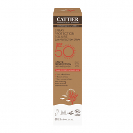 SPRAY PROTECTION SOLAIRE SPF50 125ML VISAGE ET CORPS CATTIER
