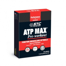 STC NUTRITION ATP MAX PRE-WORKOUT 30 GELULES