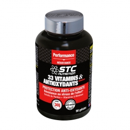 STC NUTRITION 33 VITAMINS & ANTIOXYDANTS 90 GELULES