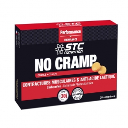 STC NUTRITION NO CRAMP 30 COMPRIMES A CROQUER GOUT ORANGE