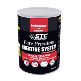 STC NUTRITION PURE PREMIUM CREATINE SYSTEM FRUITS ROUGES 500G
