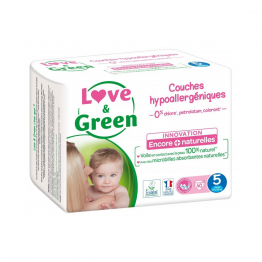 Taille 5 Junior 40 couches 11 à 25kg Love&Green