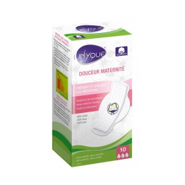 UNYQUE PROTECTIONS MAXI DOUCEUR MATERNITE X10