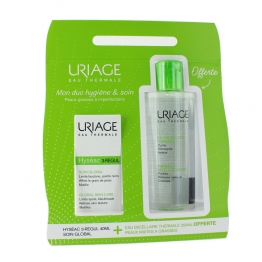 URIAGE HYSEAC 3 REGUL COFFRET SOIN GLOBAL PEAUX GRASSES A IMPERFECTIONS 40ML
