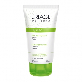 URIAGE HYSEAC CLEANSING GEL TUBE 150 ML