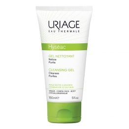 Cleansing Gel Combination To Oily Skins 150ml Hyseac Uriage