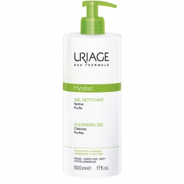 URIAGE HYSEAC CLEANSING GEL COMBINATION TO OILY SKINS 500 ML
