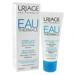 URIAGE CREME D'EAU RICHE SPF20 40ML